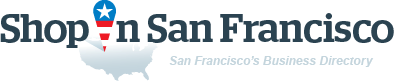 ShopInSanFran. Business directory of San Francisco - logo